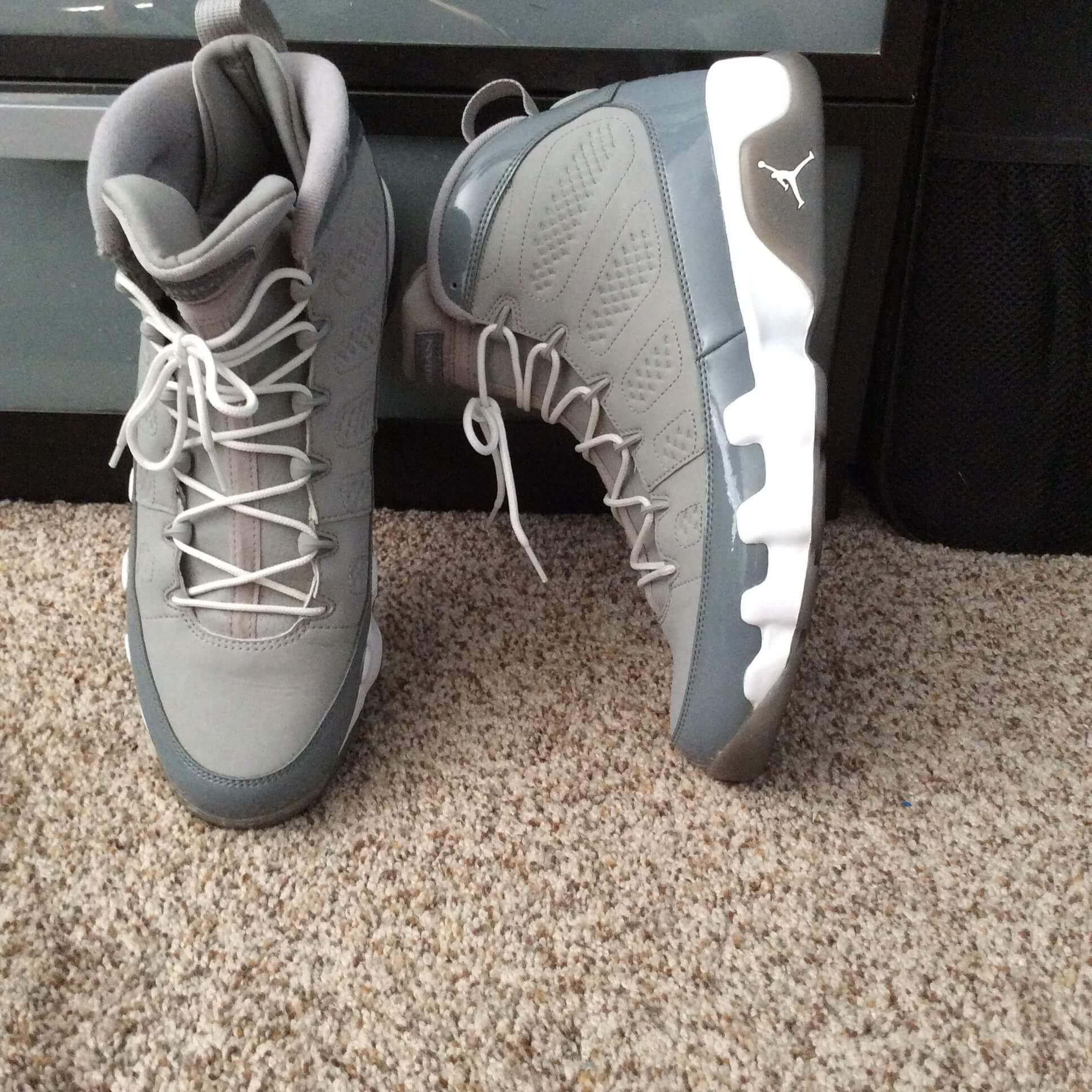 """04025c9a99ad Air Jordan 9 Retro """"Cool Grey 2012 Release"""" 302370015 – HypeTrader.com"""